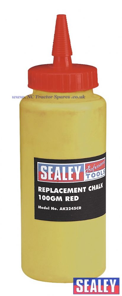 Chalk 100gm Red for Chalk Lines